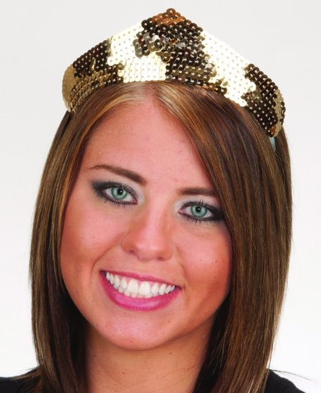 1 point Sequin Tiara