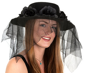 SPANISH LADIES HAT WITH VEIL