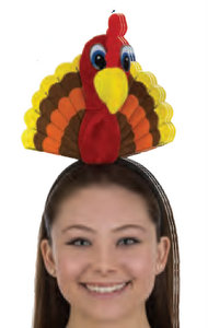 FELT TURKEY HEADBAND